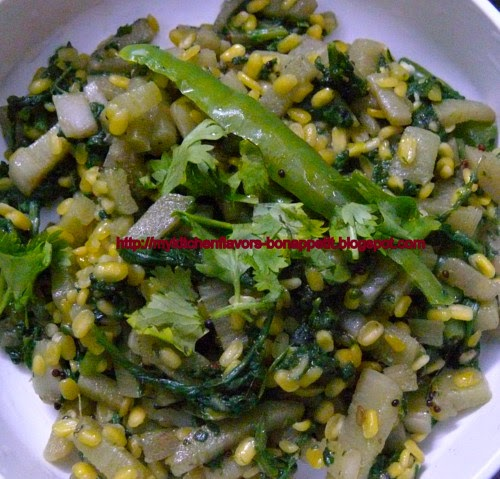 Spinach Rice Recipe Video By Mayuras Kitchen
