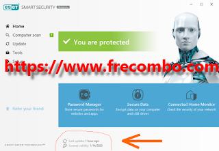 Eset Nod32 + Eset Smart Security Premium (Serial & License Key+Crack)