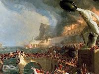 Gunung Berapi Penyebab Jatuhnya Kekaisaran Romawi