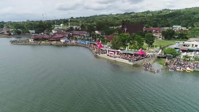 Akan Dibangun Water Front City di Pangururan, Bupati Rapidin Simbolon Rela Hotelnya Dibongkar