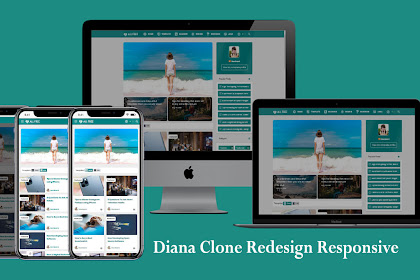 Download Template Blogger Diana Redesign - Viomagz & Igniplex