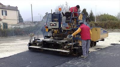 macchine finitura asfalto