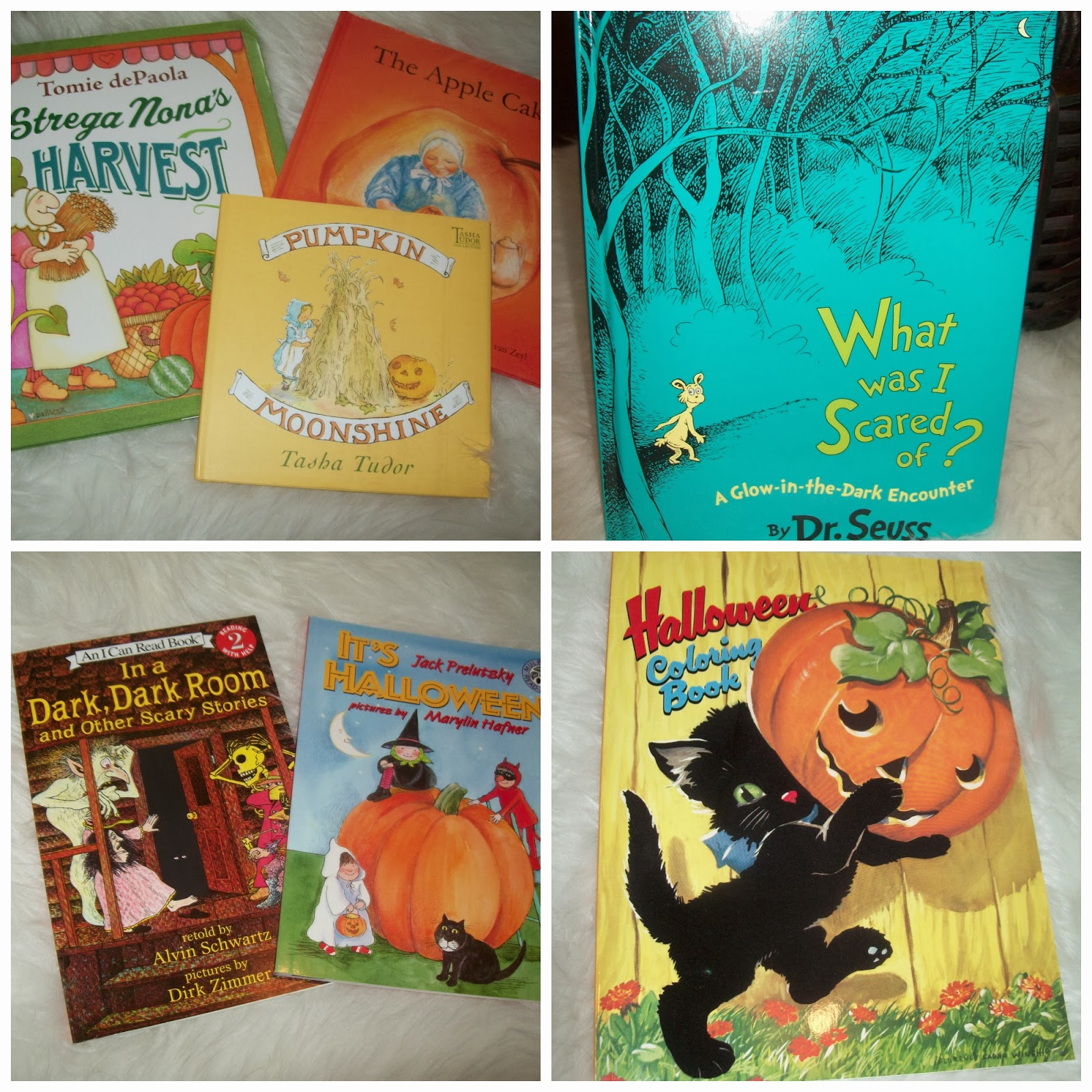April S Homemaking Our Halloween Home And Halloween Reading Corner