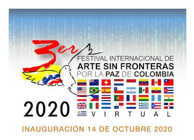 3 Festival Arte Sin Fronteras por la Paz