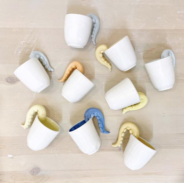 tazze ceramica co chì chiara