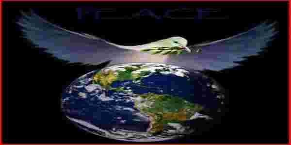 بالصور شعارات السلام العالمي