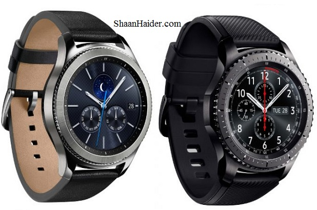Samsung Gear S3 Classic and Gear S3 Frontier Smartwatch : Full Hardware Specs, Features, Price and Availability