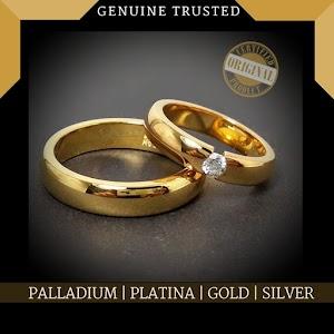 cincin kawin emas couple 627