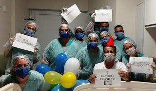 Pacientes curados de Covid-19