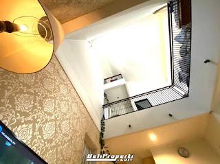 interior rumah villa kelapa dua