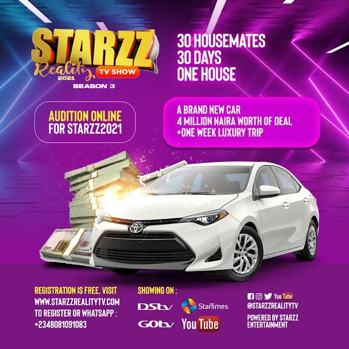 [GIST] STARZZ REALITY TV SHOW 2021 (Season 3) Is Here