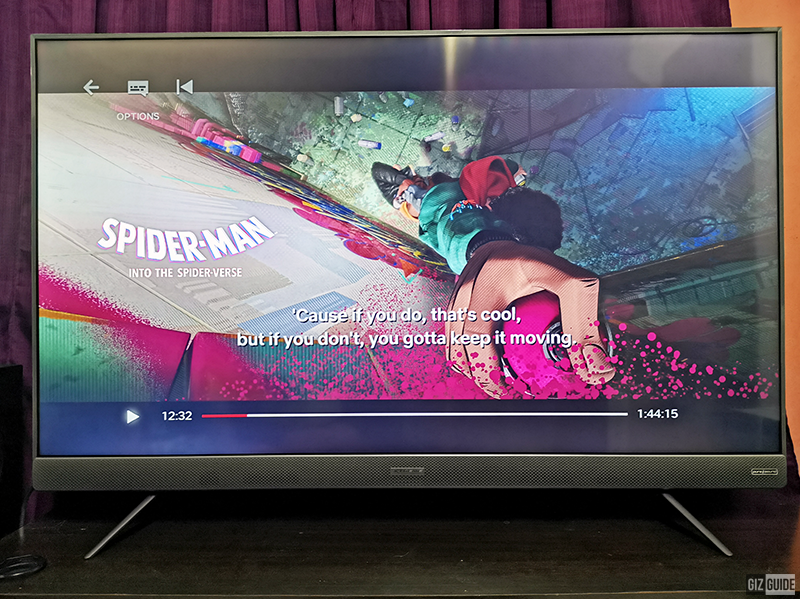 Animated films are easy to watch with this TV