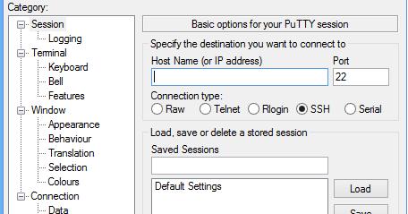 Remotely Access Kali Terminal Using Putty - Kali Linux