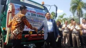 PT BISI International, Tbk berhasil mengekspor 20 ton Benih Jagung Hibrida ke Sri Lanka