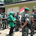 HUT TNI Ke 74, Danmenarmed 1/PY/2 Kostrad Ikuti Karya Bhakti Dan Baksos
