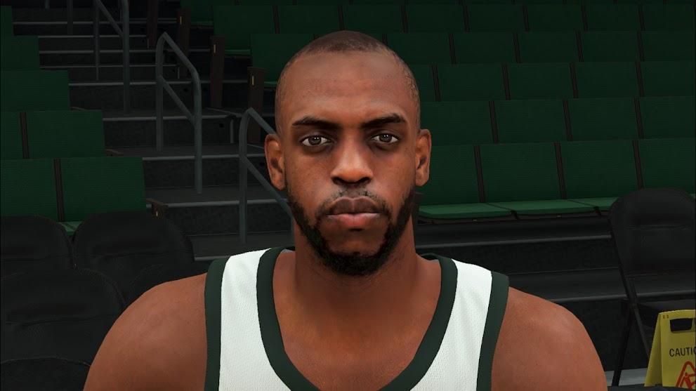 NBA 2K22 Khris Middleton Cyberface and BOdy Model by VinDragon