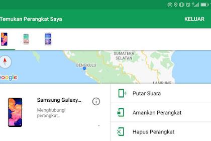 Pertolongan Pertama Jika Smartphone Android Kalian Hilang