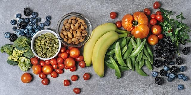 Konsumsi Sayur, Buah, Biji-bijian dan Kacang-kacangan