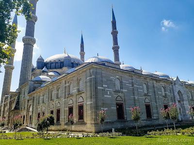 Edirne Selimiye Camii Avlusu - Arka