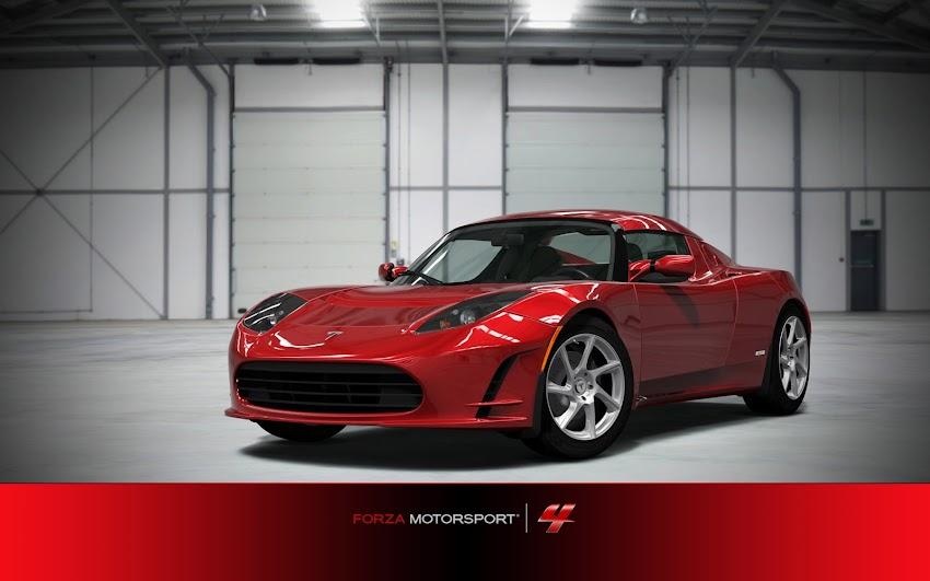 Forza Motorsport 4 2011 Tesla Roadster Sport