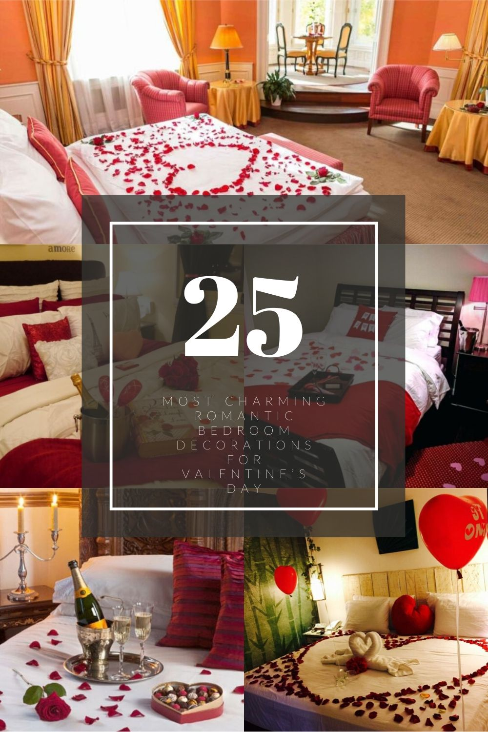 Most Charming Romantic Bedroom Decorations For Valentine's Day