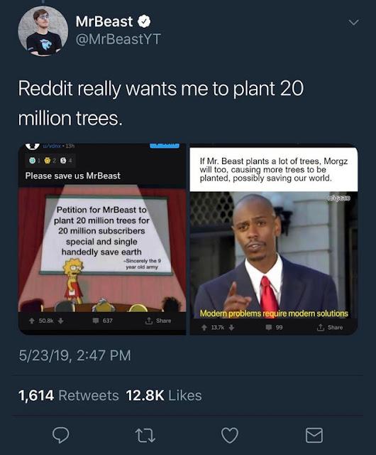 Reddit saves the environment