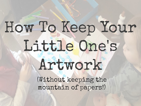 Storing Your Little One's Artwork