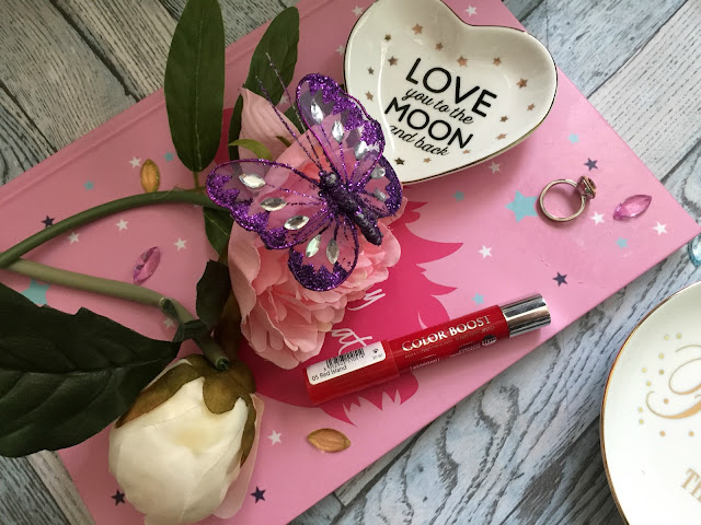 bourjois colorboost lipstick in red island review