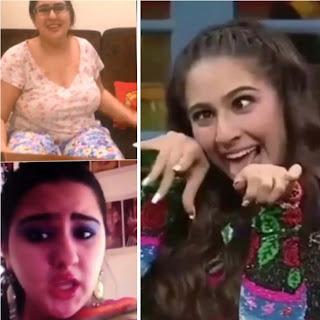 sara ali khan fat and weird pics