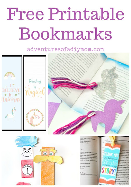 DIY Printable Bookmarks
