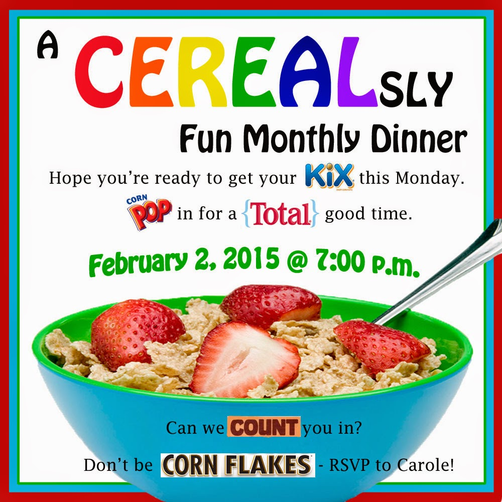 Invite And Delight: A CEREALsly Fun Dinner