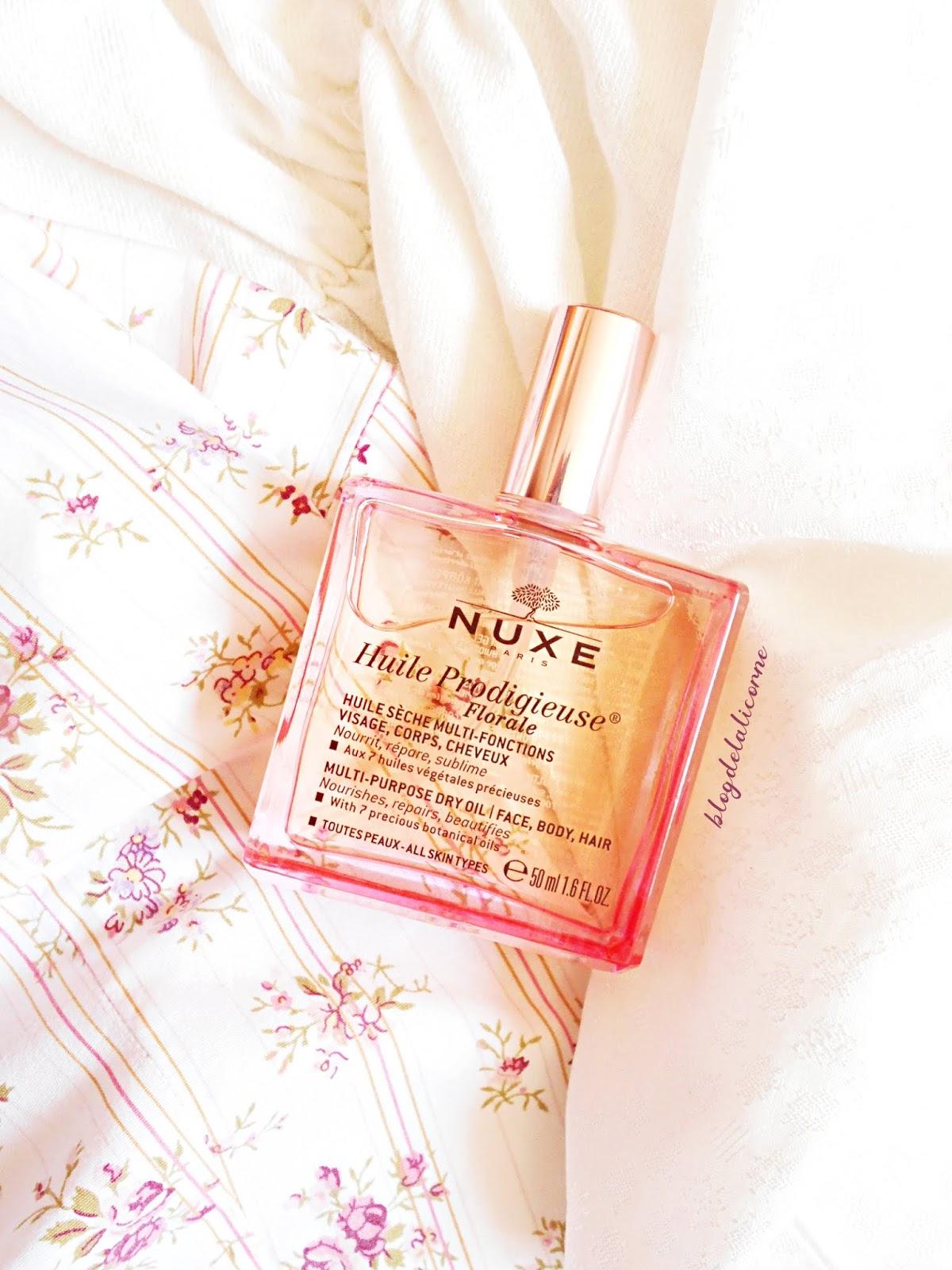 NUXE Huile Prodigieuse Florale multifunkčný suchý olej recenzia