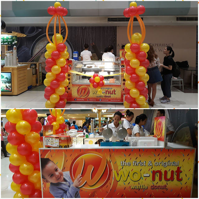 Wo-nut is a combination of waffle and donuts!