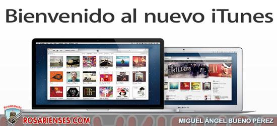 Bienvenido al nuevo iTunes 11 | Rosarienses, Villa del Rosario
