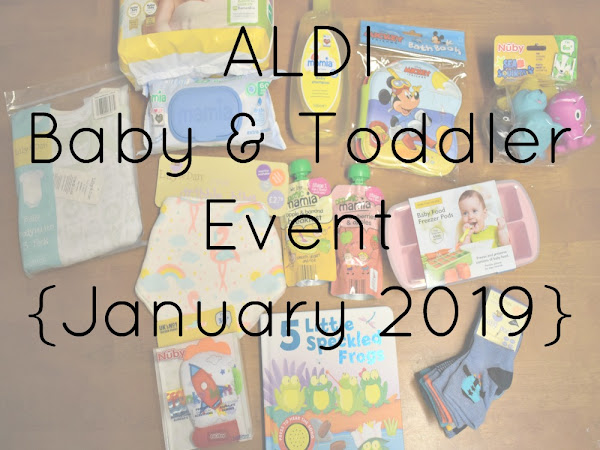 ALDI Baby & Toddler Event {January 2019}