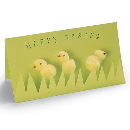 Easter Craft: Spring Peeps