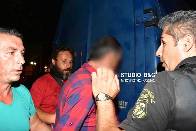 Στο εισαγγελέα Ναυπλίου οι δράστες της ληστείας του επιχειρηματία Μποζονέλου στο Άργος (βίντεο)