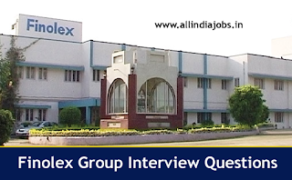 Finolex Group Interview Questions