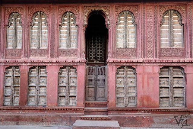 Bikaner style of architecture, Heritage street