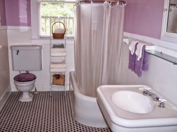 Gambar kamar mandi minimalis yang cerah dan nyaman