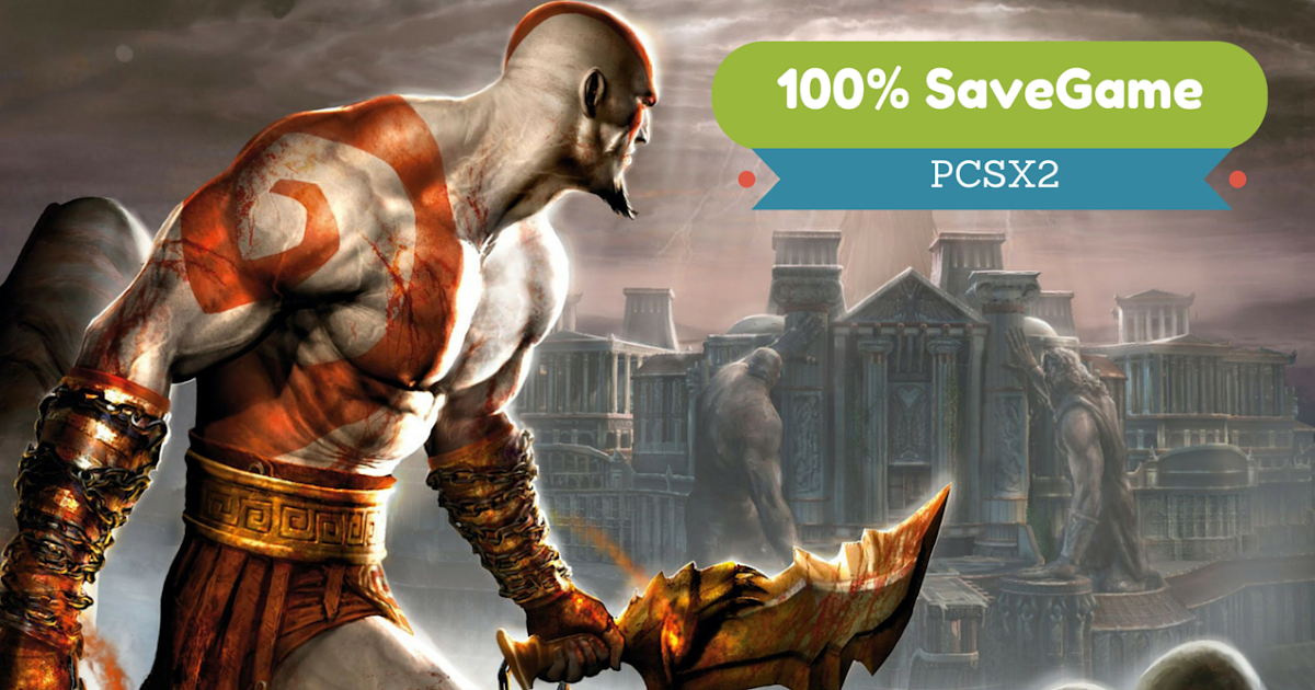 god of war 2 save game memory card for pcsx2