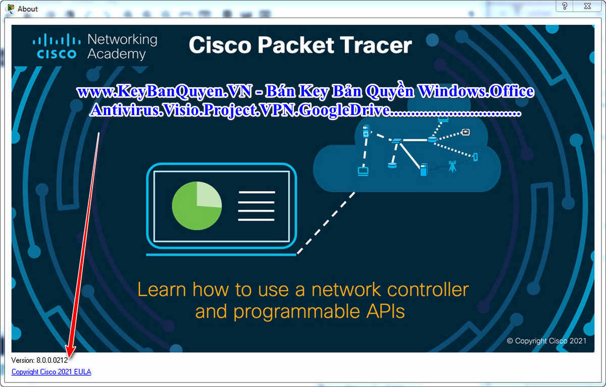 Download Cisco Packet Tracer 8 Full Key, Phần mềm mô phỏng mạng dữ liệu máy tính.