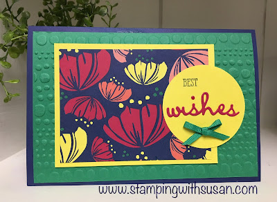 Stampin' Up!, Happiness Blooms, Happiness Blooms Memories & More Cards & Envelopes, Well Said, www.stampingwithsusan.com