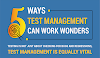 5 Ways Test Management Can Work Wonders #infographic