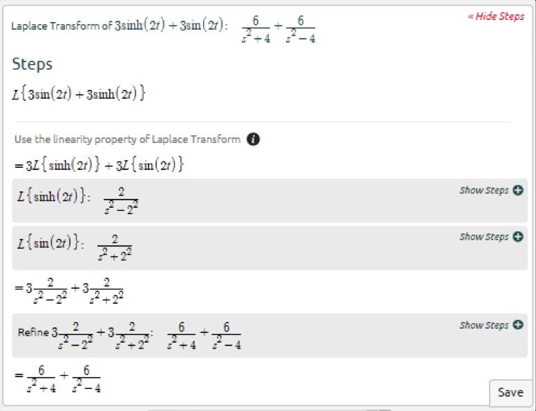 Symbolab Blog Advanced Math Solutions  Laplace