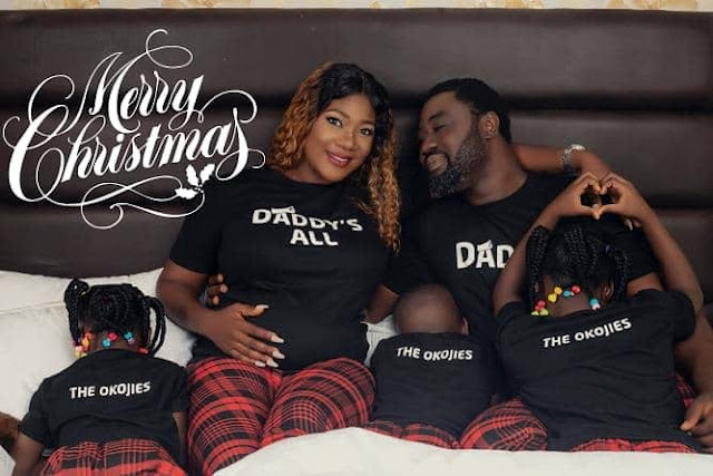 Mercy Johnson & Her Family Wishes Fans A Happy New Year in New Video
