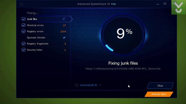 تحميل برنامج منظف الويندوز Advanced SystemCare Free