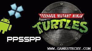 Teenage Mutant Ninja Turtles Compressed PPSSPP CSO