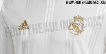 new style 1d649 6ca5f Adidas Real Madrid 19-20 Icon Retro Long-Sleeve Jersey Leaked