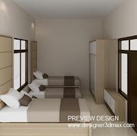 Jasa design Kamar Tidur